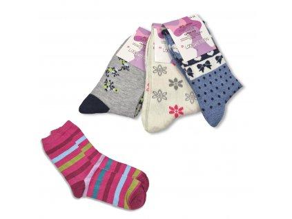 Dívčí ponožky LOOKEN ZTY-8917 (4 páry)