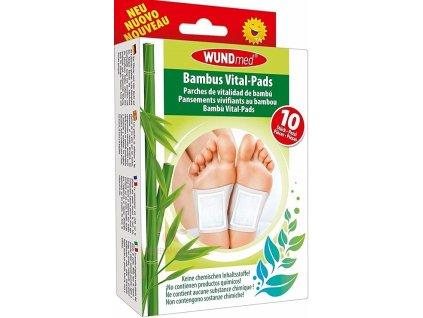 wundmed detoxikacni naplasti na nohy bambus 10
