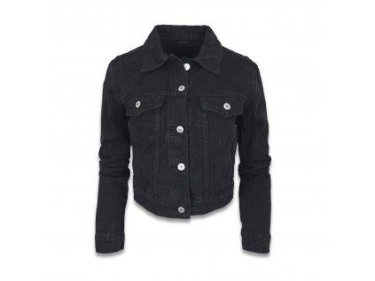 Dámská džínová bunda REALIZE černá