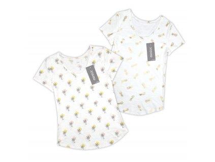 Dámské tričko Ananas a Palma