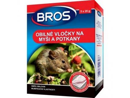 bros obilne vlocky na potkany a mysi l