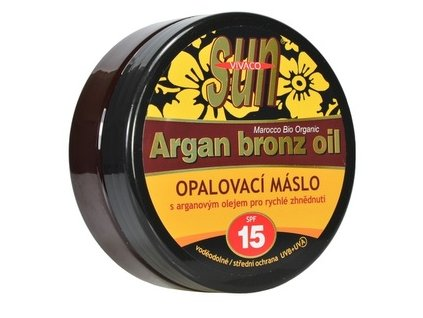 sun vital opalovaci maslo argan bronz oil of 15 200 ml