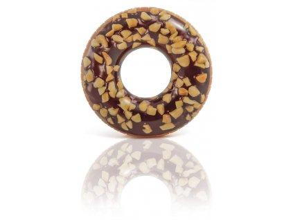 Nafukovací kruh - čokoládový donut INTEX