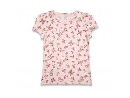 Dívčí tričko s motýli