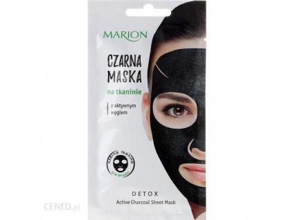 i marion czarna maska na tkaninie z aktywnym weglem 1