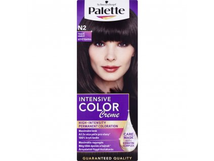 Schwarzkopf Palette Intensive Color Creme, barva na vlasy, N2 tmavě hnědá, 50 ml