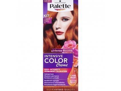 Schwarzkopf Palette Intensive Color Creme, barva na vlasy, KI7 intenzivní měděná, 50 ml