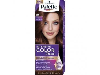 Schwarzkopf Palette Intensive Color Creme, barva na vlasy, R4 kaštanový, 50 ml