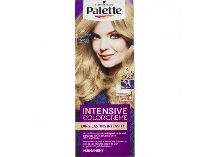 869985 schwarzkopf palette intensive color creme barva na vlasy prirodni svetla blond 9 40