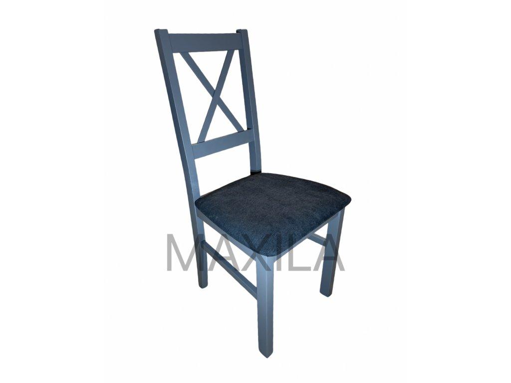 Židle Bruno 10 (Grafit, Tkanina 13X) - Poslední kusy