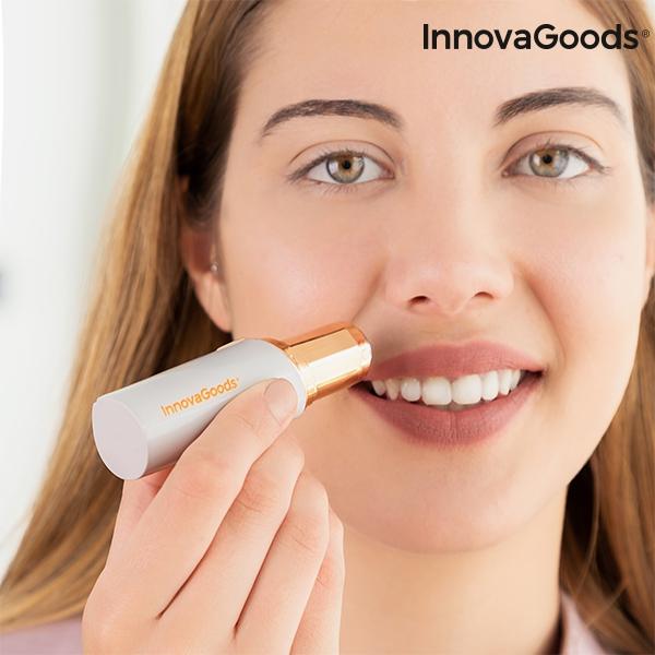 Bezbolestný obličejový depilátor s LED osvětlením