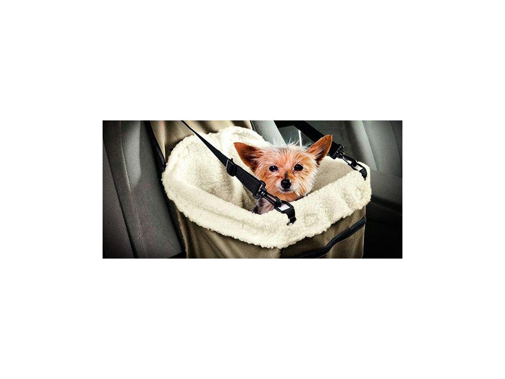 Přepravní taška pro pejska do auta