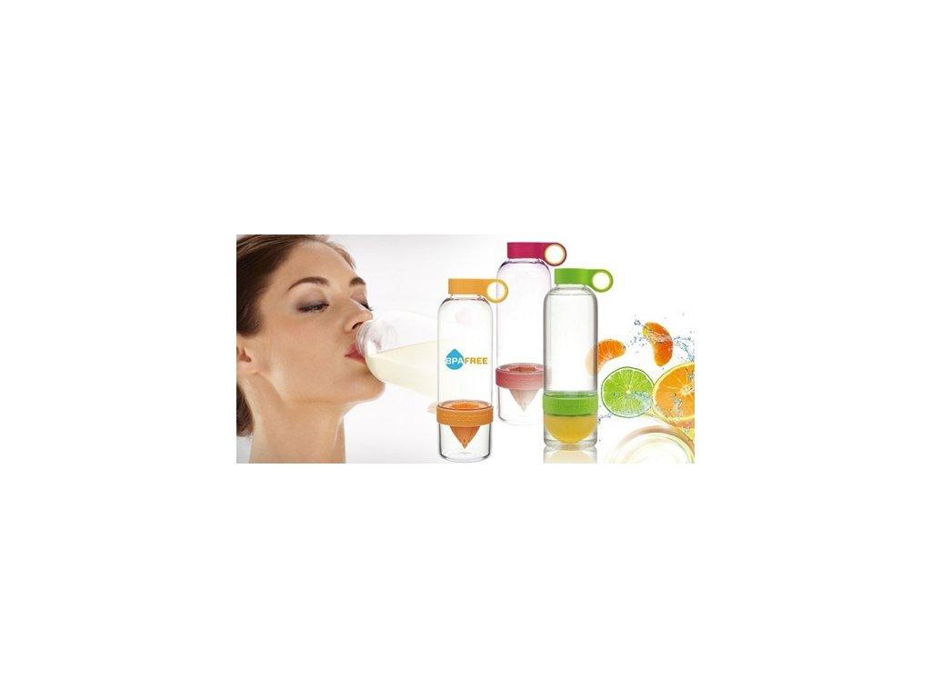 Chytrá láhev na výrobu citronády - obohaďte svůj den o vitamíny!