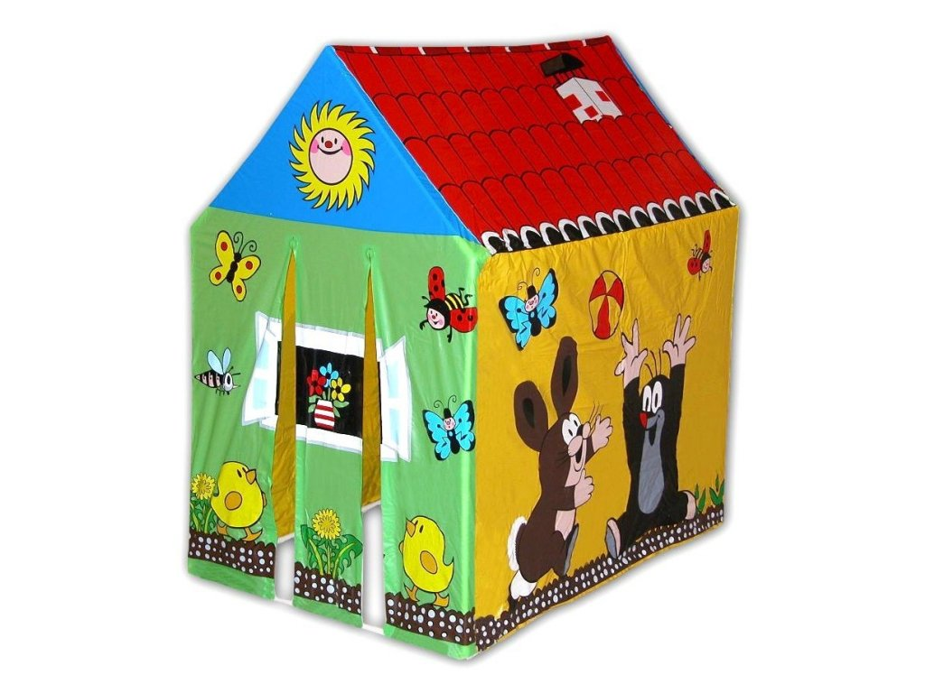 Wiky dětský domeček s krtečkem