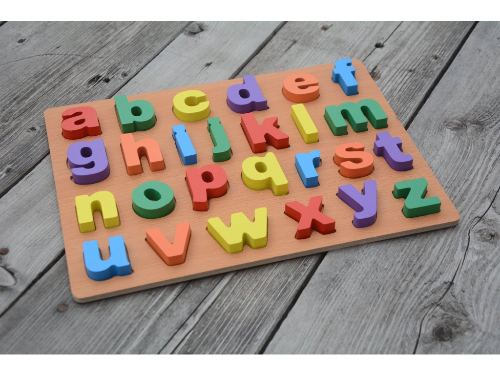 Dřevěná písmenka