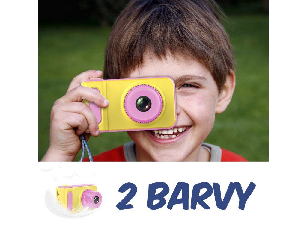 Dětský foťák pro holky i kluky