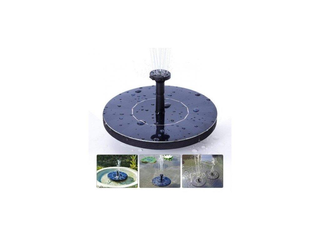 Zahradní solární fontánka