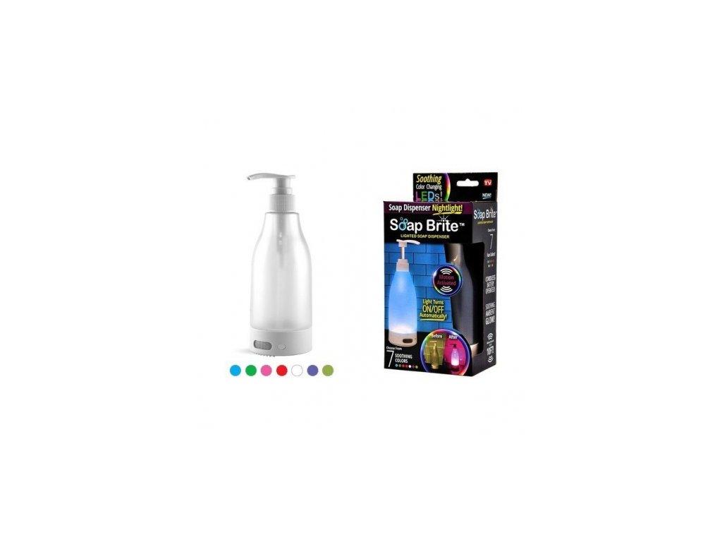 Svítící dávkovač na mýdlo