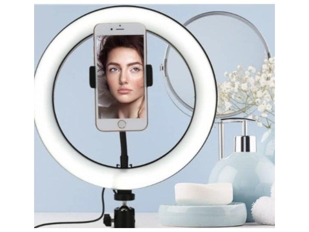 Profesionální kruhové LED světlo - 15 cm