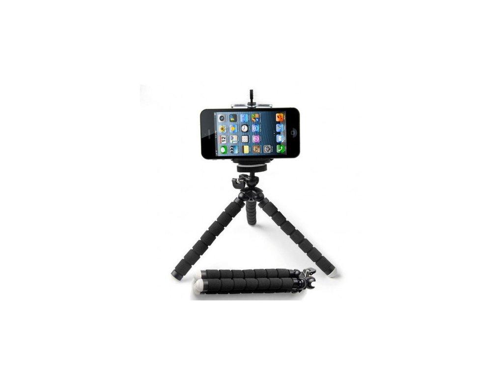 Mini flexibilní stativ a držák pro telefon