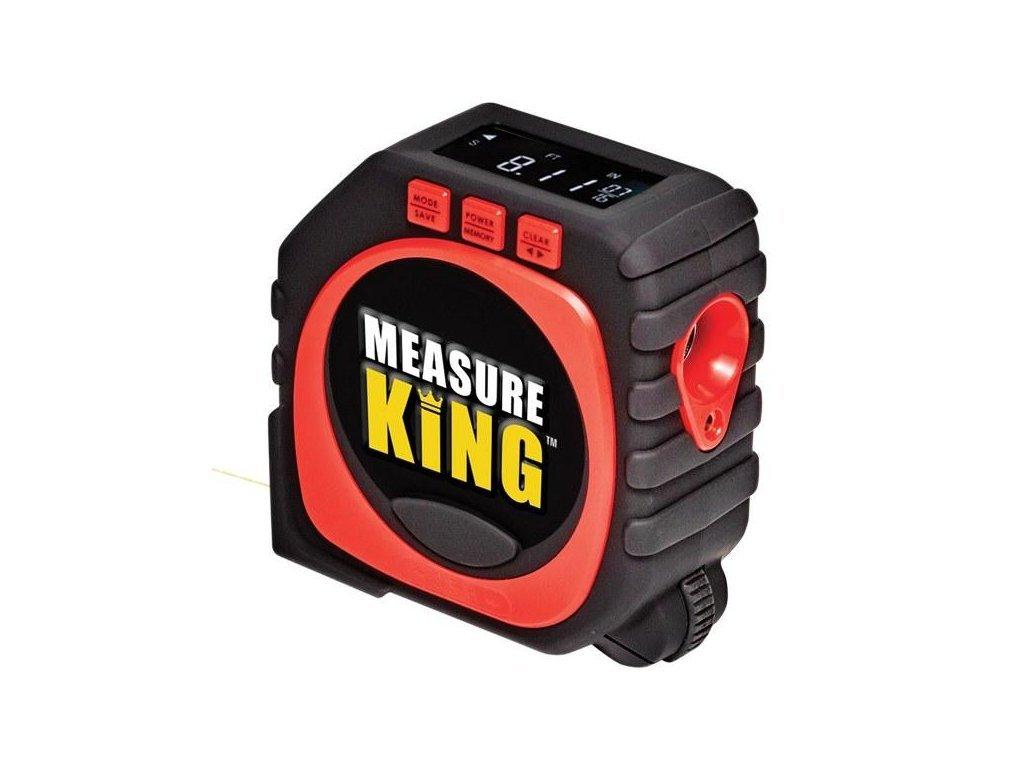Laserový měřič vzdálenosti, metr, pravítko 3v1 Measure King