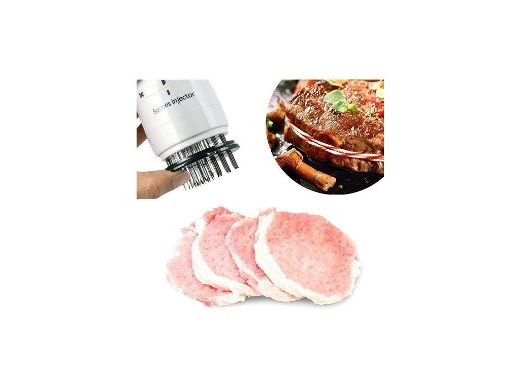 Tenderizér - propichovač, zkřehčovač masa