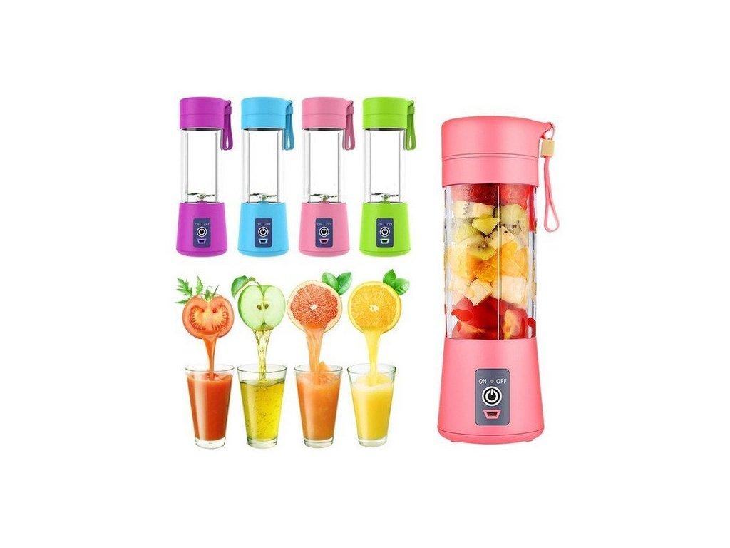 prenosny usb smoothie mixer 380 ml