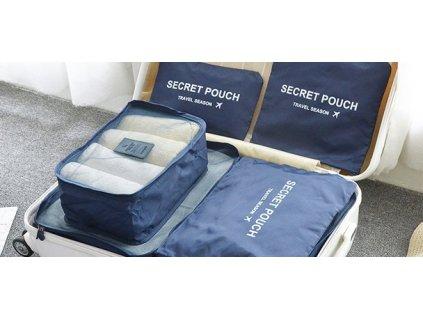 Set cestovních organizérů do kufru - 5ks