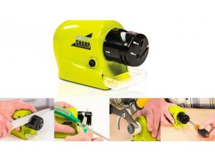 Elektrický brousek na nože - naostří vaše nože i nůžky