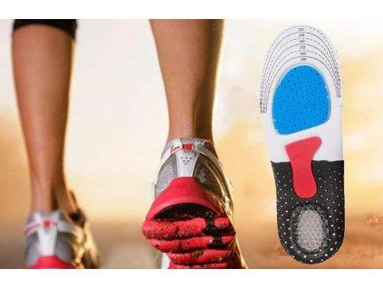 Měkké ortopedické vložky do bot 5