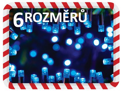 vanocni svetylka na stromek modre