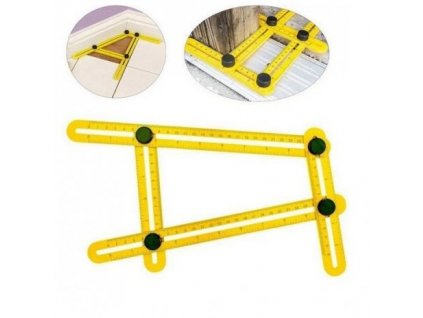 Multifunkční mechanický úhelník (pravítko)
