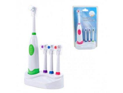 Rotační zubní kartáček a 4 nástavce
