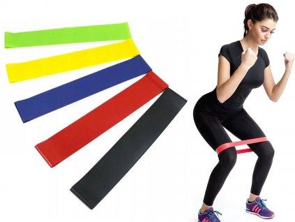 Fitness gumy Exercise 5 ks