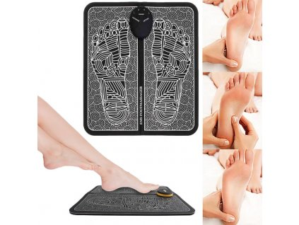 Elektrická masážní podložka na nohy