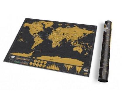 stiraci mapa sveta deluxe cerna 4