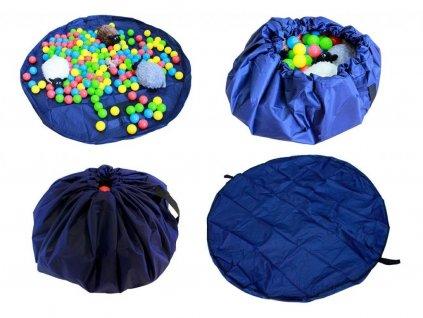 toy storage bag 2v1 hraci deka vak na hracky 140cm