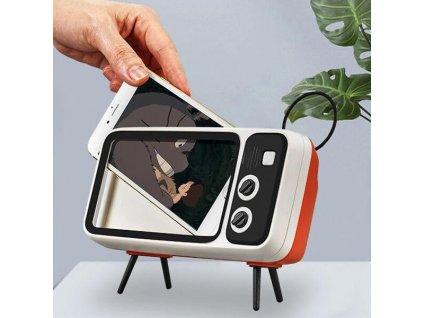 retro drzak telefonu s reproduktorem 3v1