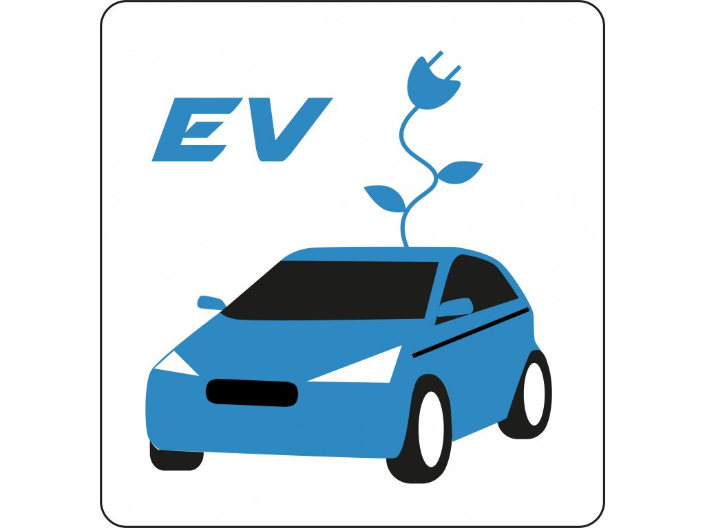EV blue with flower Point
