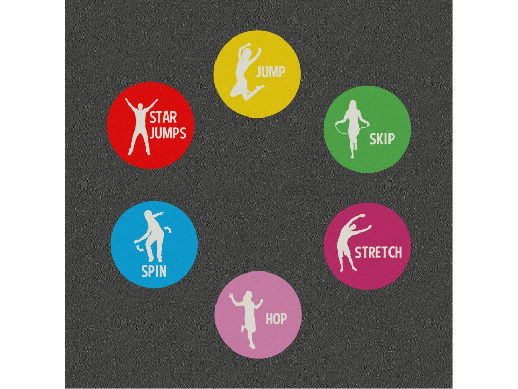 TMF020 S Fitness Activity Circles Solid