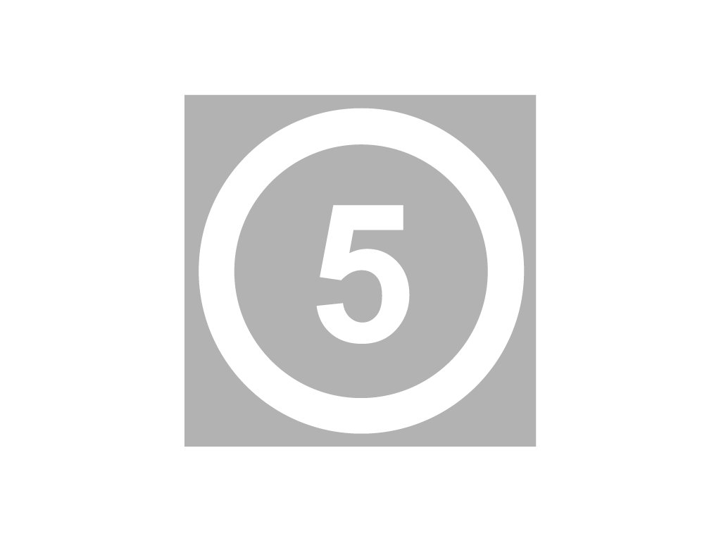 5mph speed roundel white product 0