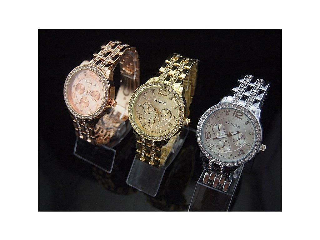 04cb8dcdb 1+1 ZDARMA Dámské hodinky Geneva crystal II kód produktu: 15466 ...