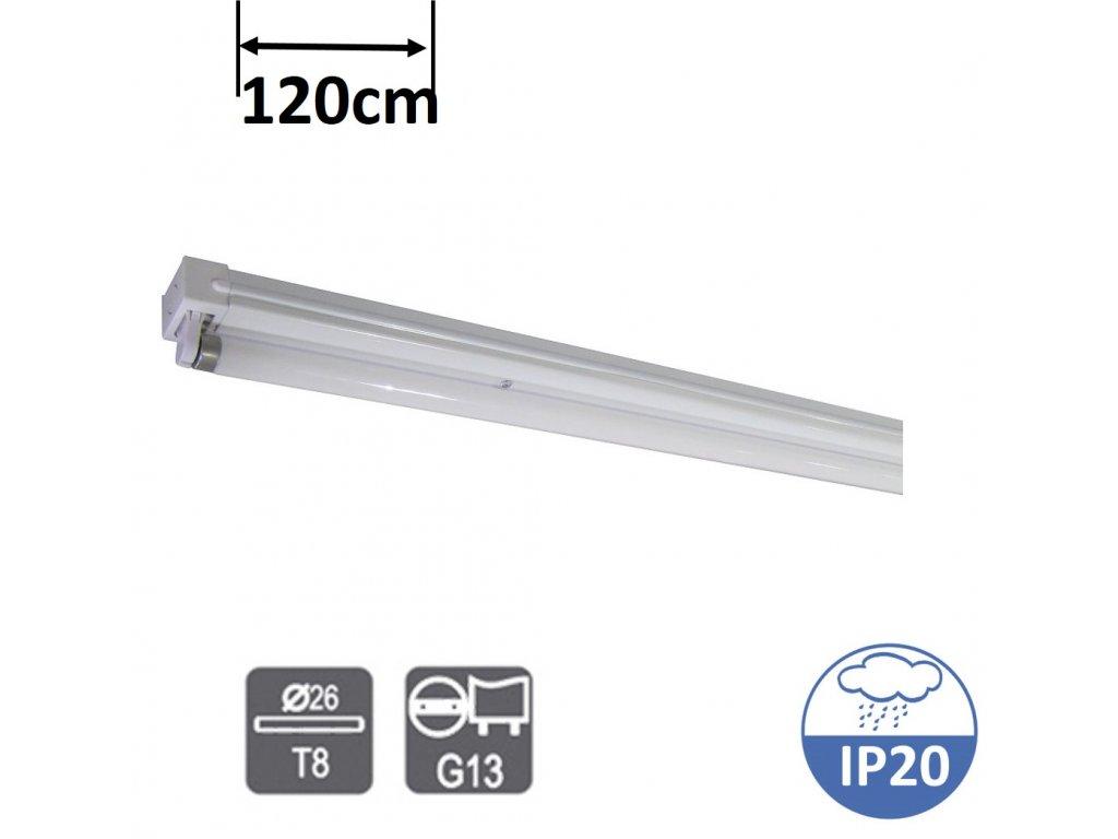 greenlux UGO 1X36W EVG zářivkové svítidlo 120cm zářivku