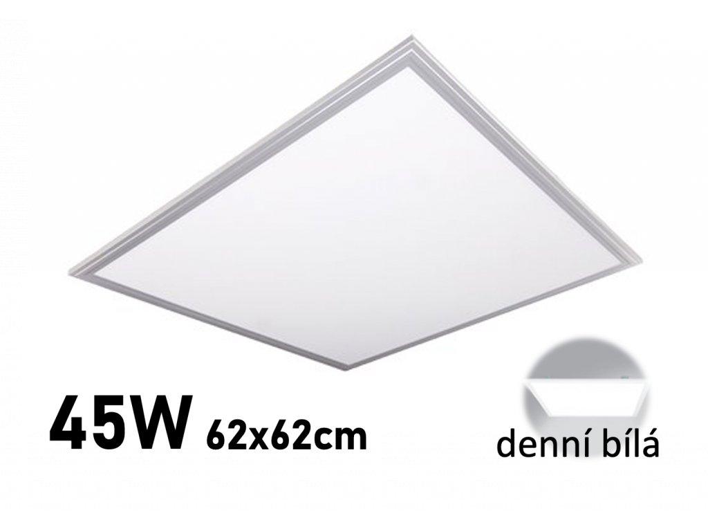 LED panel 62x62 cm do sadrokartonu