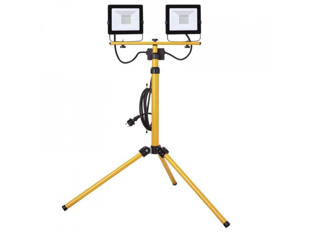 LED reflektor teleskop trojnozka 2x30W ZS2231.2