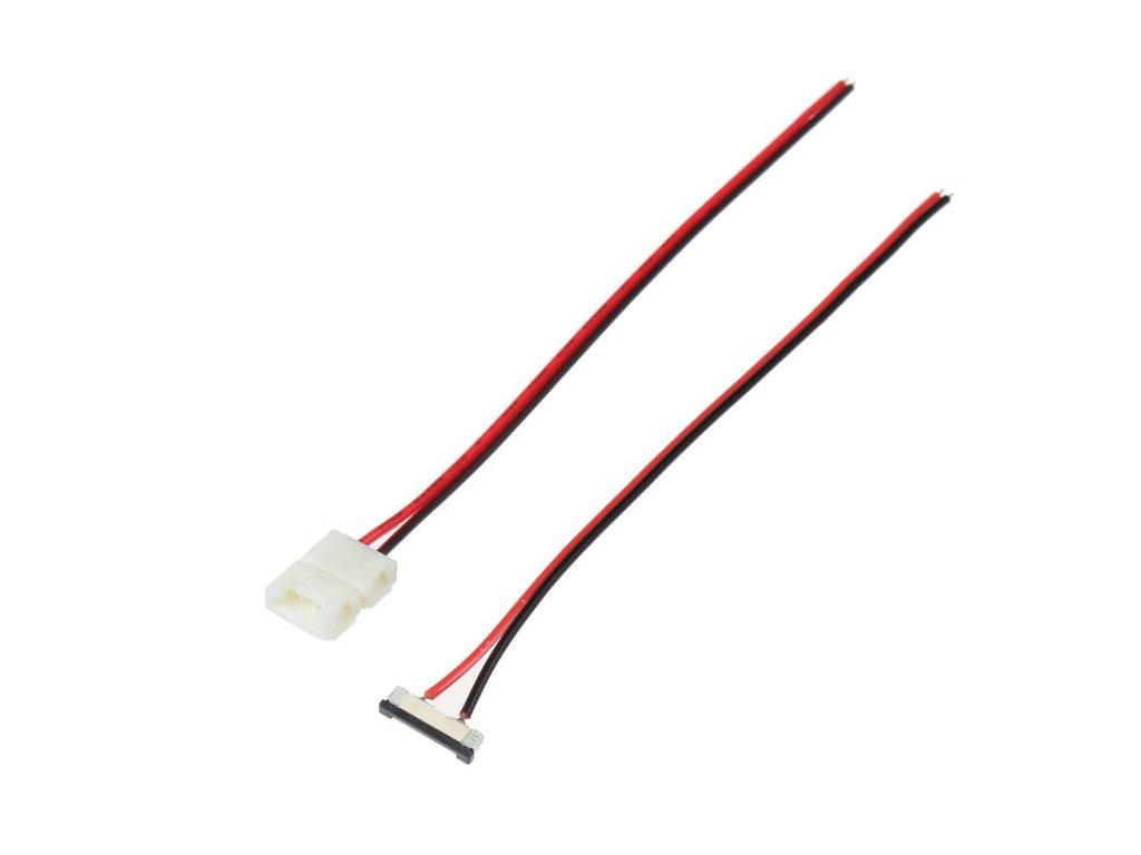 1barva přípojka pro LED pásek s kabelem