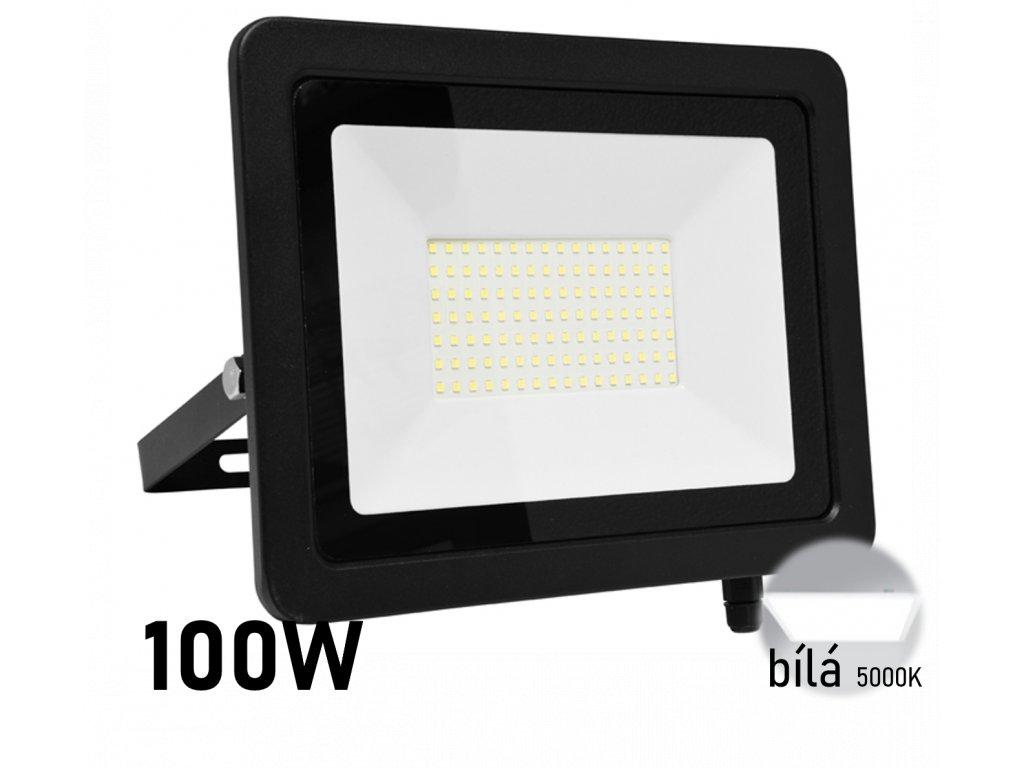 led reflektor 100W 5000k bila RLED48WL 100W
