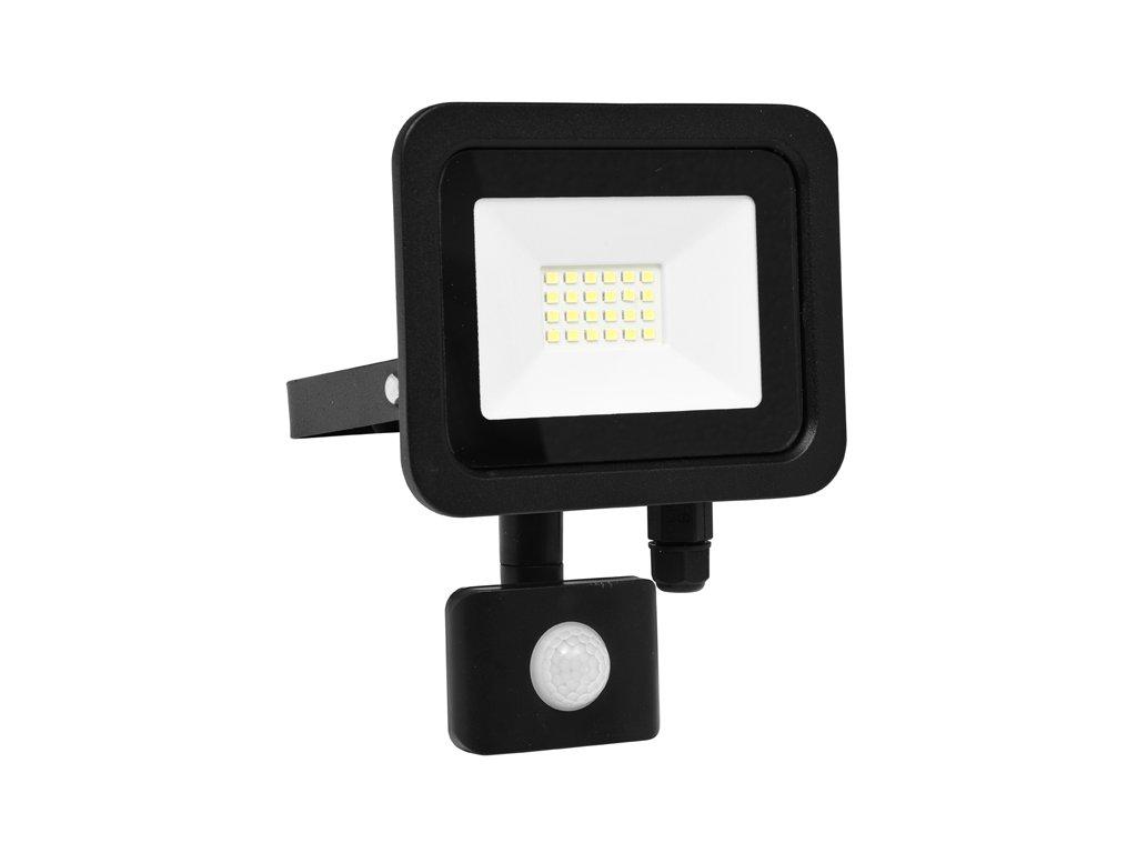LED reflektor vč. PIR,20W,5000K,IP65,1600Lm