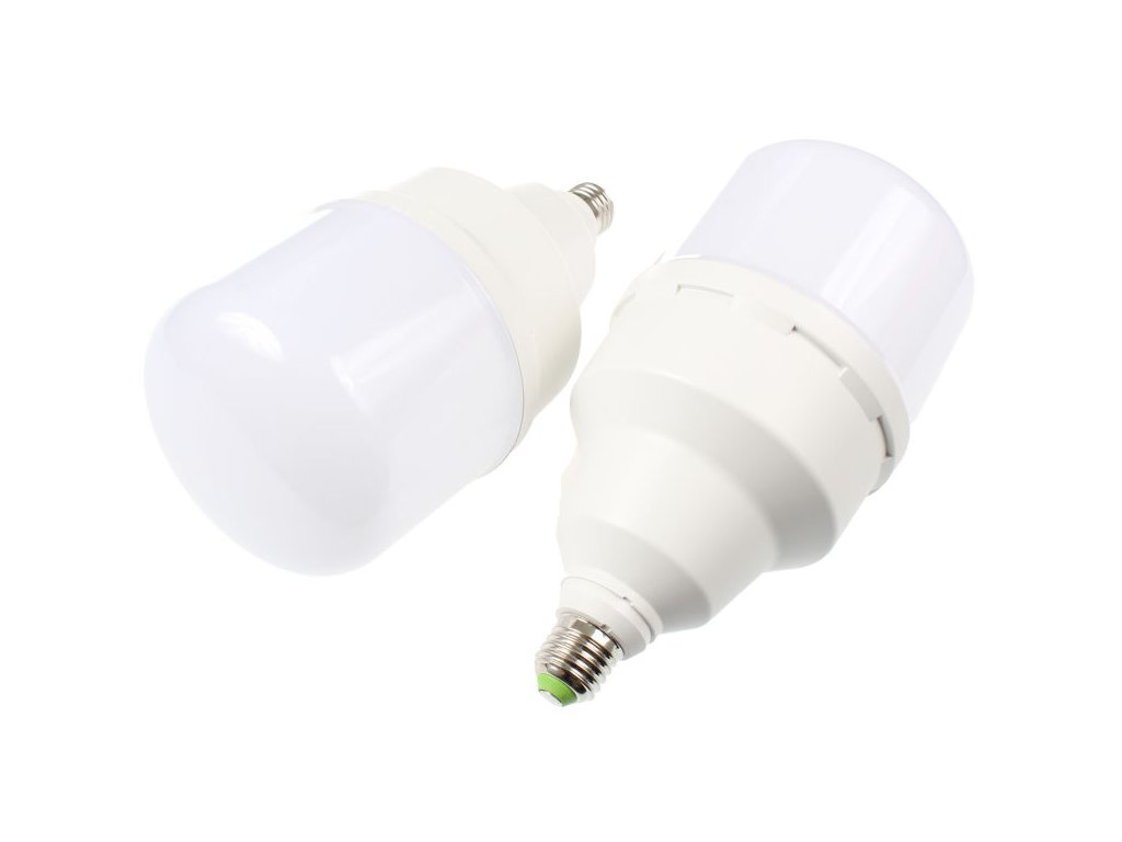 LED žárovka E27-T130 50W DENNÍ BÍLÁ