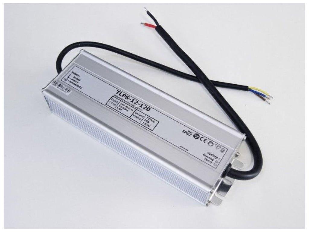 LED zdroj, trafo,200W, 12V IP67 venovní voděodolný MaxLumen.cz